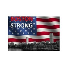 Boston Strong Rectangle Magnet