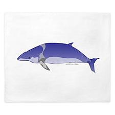 Minke Whale King Duvet
