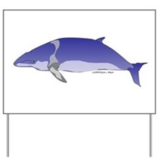 Minke Whale Yard Sign