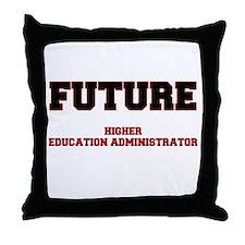 Future Higher Education Administrator Throw Pillow