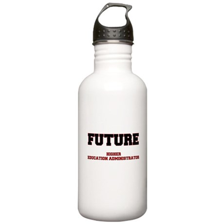 Future Higher Education Administrator Water Bottle