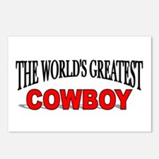 """""""The World's Greatest Cowboy"""" Postcards (Package o"""