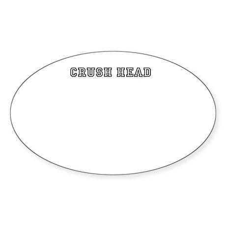 Crush Head Sticker