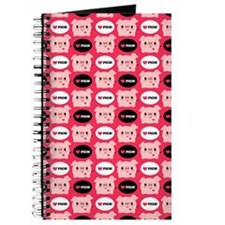 Kawaii I Love Pigs Journal
