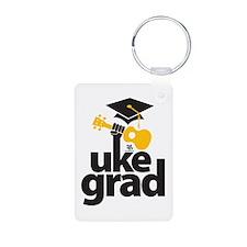 Uke Grad Keychains