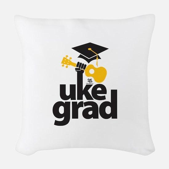 Uke Grad Woven Throw Pillow