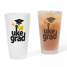 Uke Grad Drinking Glass