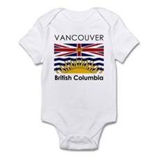 Vancouver British Columbia Infant Bodysuit