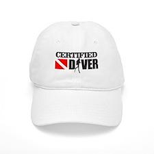 Certified Diver Baseball Cap