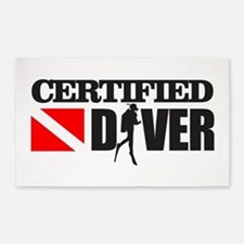 Certified Diver 3'x5' Area Rug