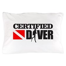 Certified Diver Pillow Case