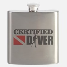 Certified Diver Flask