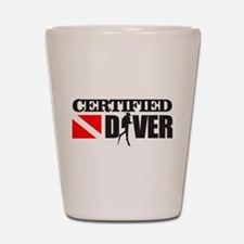 Certified Diver Shot Glass