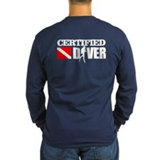 Certified Diver Long Sleeve T-Shirt