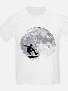Moon skateboard T-Shirt