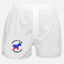 Proud Democrat Boxer Shorts