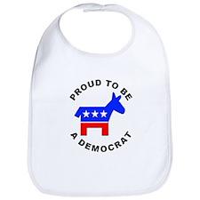 Proud Democrat Bib