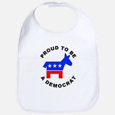 Proud Democrat Bib