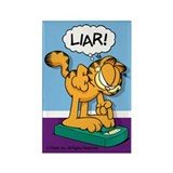 Garfield liar Magnets