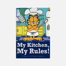 My Kitchen, My Rules! Rectangle Magnet (10 pack)