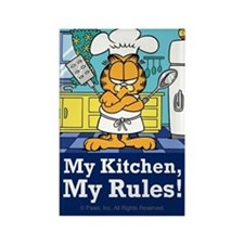 My Kitchen, My Rules! Rectangle Magnet