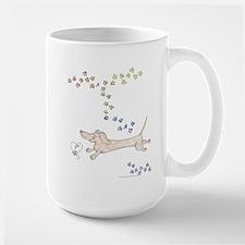 Doxie Rainbow Love Mug