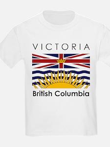 Victoria British Columbia Kids T-Shirt