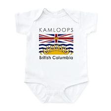 Kamloops British Columbia Infant Bodysuit