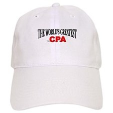 """The World's Greatest CPA"" Baseball Cap"