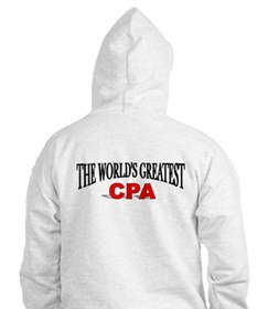 """The World's Greatest CPA"" Hoodie"