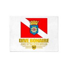 Dive Bonaire 5'x7'Area Rug