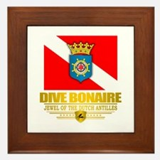 Dive Bonaire Framed Tile