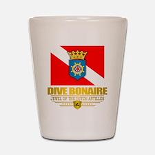 Dive Bonaire Shot Glass