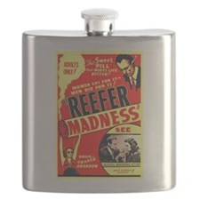 Reefer Madness Flask