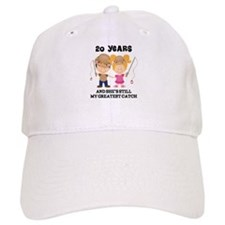 20th Anniversary Hes Greatest Catch Baseball Cap
