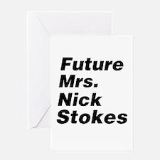 Future Mrs Greeting Card