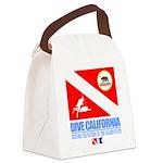 Dive California Canvas Lunch Bag