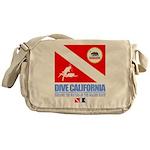 Dive California Messenger Bag