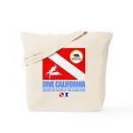 Dive California Tote Bag