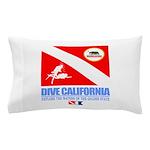 Dive California Pillow Case
