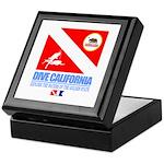 Dive California Keepsake Box