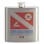 Dive California Flask