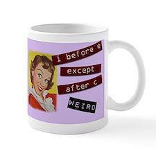 Funny Grammar Rules Mug