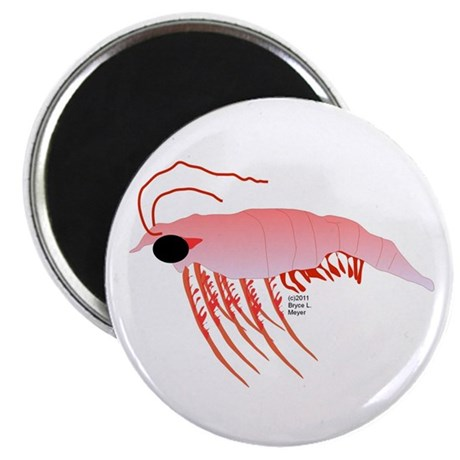 """Pink Krill 2.25"""" Magnet (100 pack)"""