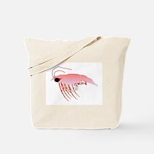Pink Krill Tote Bag