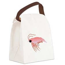 Pink Krill Canvas Lunch Bag