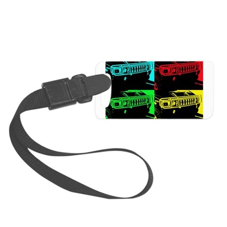 Hummer Pop Art - 303 Luggage Tag