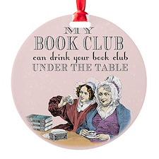 My Book Club Ornament