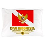 Dive Indonesia Pillow Case