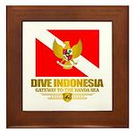 Dive Indonesia Framed Tile